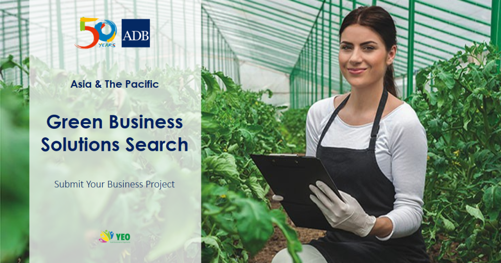 ADB Youth for Asia Solutions Search 2016 – Attend the Green Business Forum!