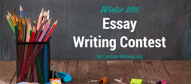 Essay Writing Contest by Custom-Writing.org 2016