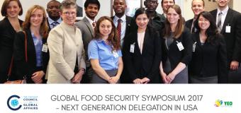 Global Food Security Symposium 2017 – Washington DC, USA (Fully Funded)
