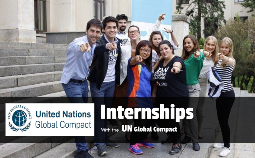 UN Global Compact Internship – Fall 2018 in New York, USA
