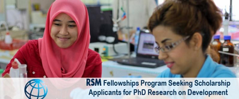 World Bank Robert S. McNamara Fellowships Program 2017