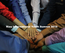 Riau International Youth Summit 2016 in Pekanbaru, Riau, Indonesia
