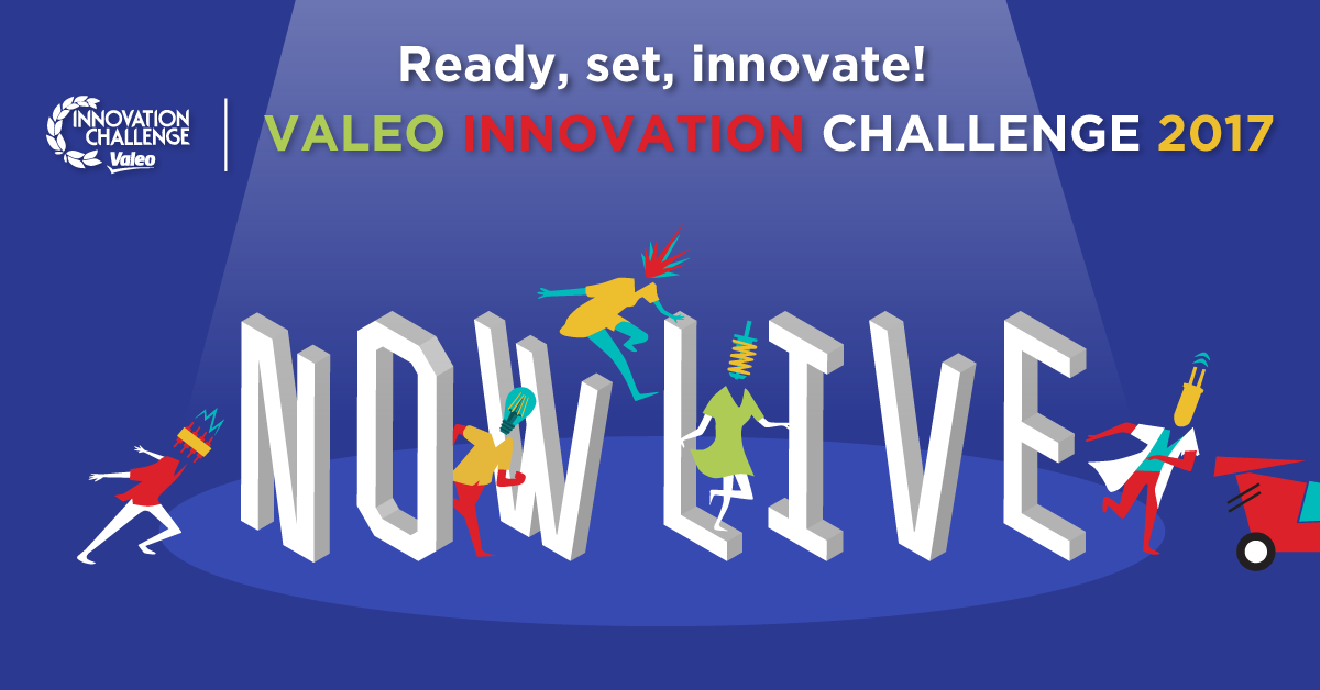 Calling all Innovators: Valeo Innovation Challenge 2017 –  €100,000 Prize for Winners