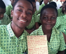 Youth of Ghana National Essay and Drawing Competition 2016