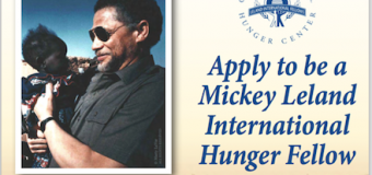 Mickey Leland International Hunger Fellows Program 2017-19 (Funded)