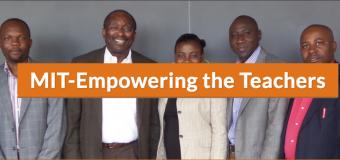 MIT-Empowering the Teachers Program 2018