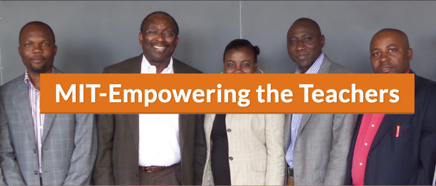 MIT-Empowering the Teachers Fellowship Program for Lecturers 2017