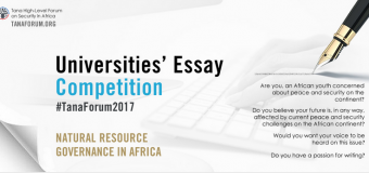 Tana Forum University Essay Competition 2017