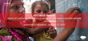 World Innovation Summit for Education (WISE) Awards 2017