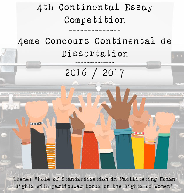 ARSO Continental Essay Competition 2016/2017