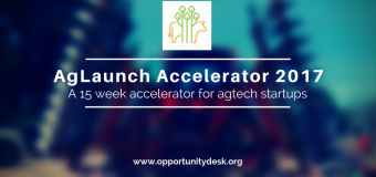 AgLaunch Accelerator 2017 – $50,000 in investment for AgTech Startups