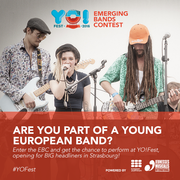 European Youth Forum Emerging Bands Contest 2017