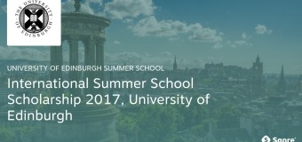 International Summer School Scholarship 2017 at University of Edinburgh