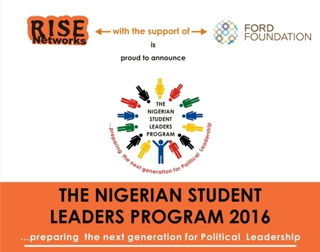 RISE Networks Nigerian Student Leaders Program 2016