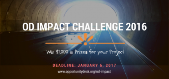 Opportunity Desk – OD Impact Challenge 2016