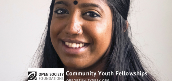 Open Society Community Youth Fellowships 2017 ($60,000 Award for Projects)
