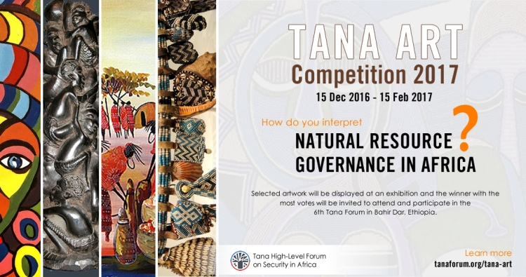 Submit Entries for the Tana Art Competition 2017 (Win a Trip to Ethiopia)