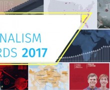 Global Editors Network Data Journalism Awards 2017 (Prizes Worth $1,801 for Winners)