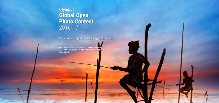 Enter the Olympus Global Open Photo Contest 2016/17
