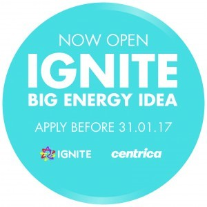 IGNITE Big Energy Idea 2017- Win up to £2m in Investment