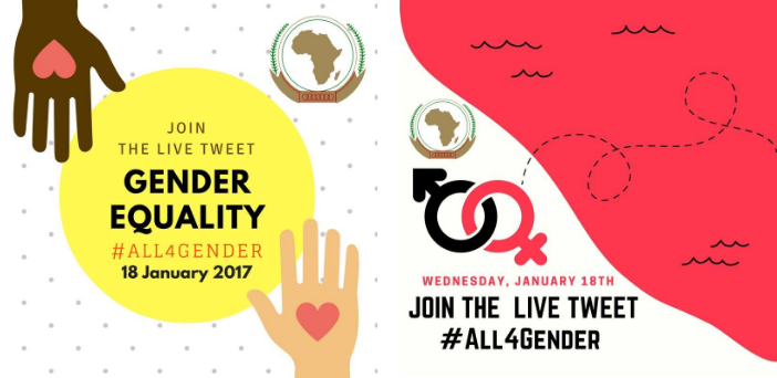 Call for Participation: 9th African Union Gender Pre-Summit Twitter Live Chat #All4Gender