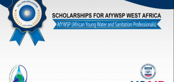 African Young Water and Sanitation Professionals Scholarships 2017