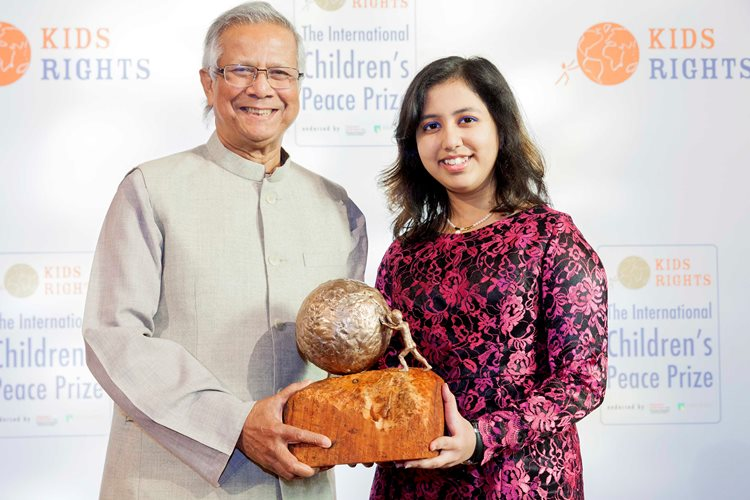 Nominations Open for the International Children's Peace Prize 2017