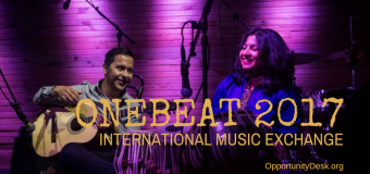 OneBeat International Music Exchange Program 2017 – United States (fully-funded)