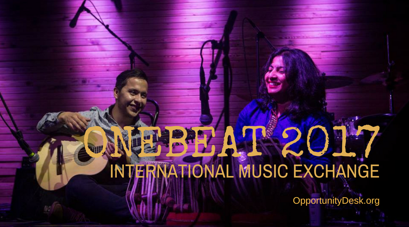 OneBeat International Music Exchange Program 2017 – United States (fully-funded)