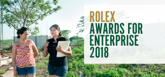 Rolex Awards for Enterprise 2018 (100,000 Swiss francs Prize for Winners)