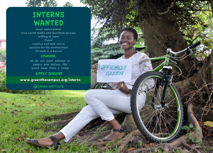 Apply to the Green Campus Initiative Internship 2017