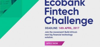 Ecobank Fintech Challenge 2017 for Tech Innovators and Entrepreneurs