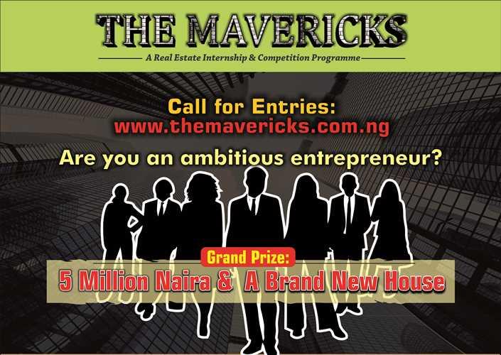 The Mavericks Real Estate Internship & Competition 2017 for Nigerians