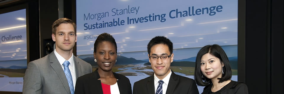 Kellogg Morgan Stanley Sustainable Investing Challenge