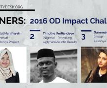 2016 OD Impact Challenge Winners