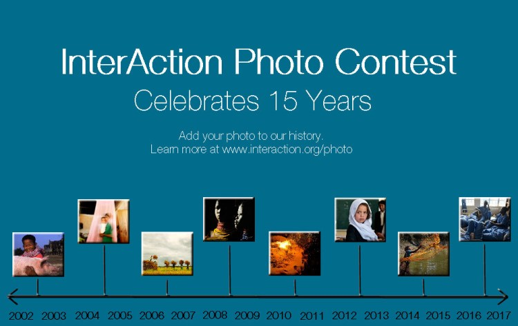 InterAction's 15th Annual Photo Contest