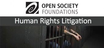 Open Society/CEU Summer School in Human Rights Litigation 2017