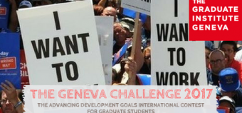 The Geneva Challenge 2017: International Contest for Graduate Students
