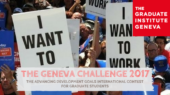 The Geneva Challenge 2017: International Contest for Graduate Students