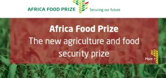 Nominations Open for the Africa Food Prize 2017 (Prize of $100,000)