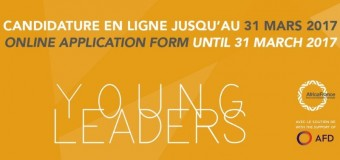 AfricaFrance Young Leaders Programme 2017 in Paris and Africa (Fully-funded)