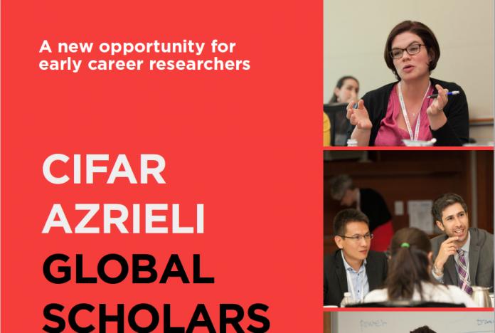 CIFAR Azrieli Global Scholars Program 2017