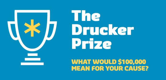 Apply to the Drucker Prize 2017 (Win up to $100,000)