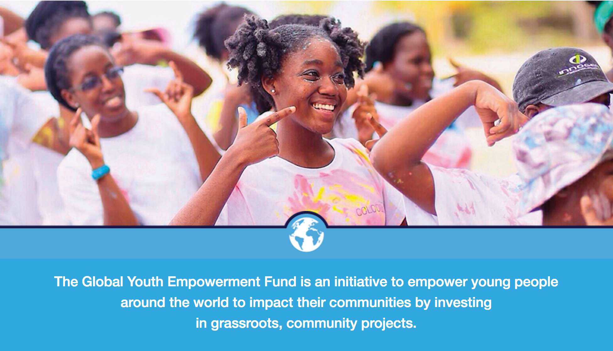 Global Youth Empowerment Fund 2017 (Up to $5,000 grant)