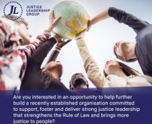 Justice Leadership Group Internship Programme 2017