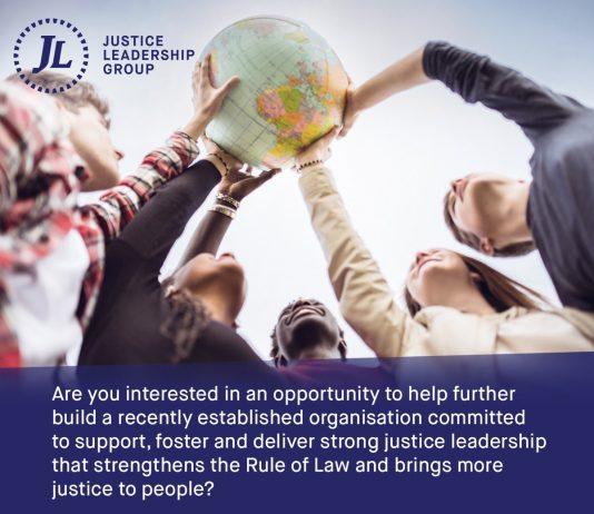 Justice Leadership Group Internship Programme 2017