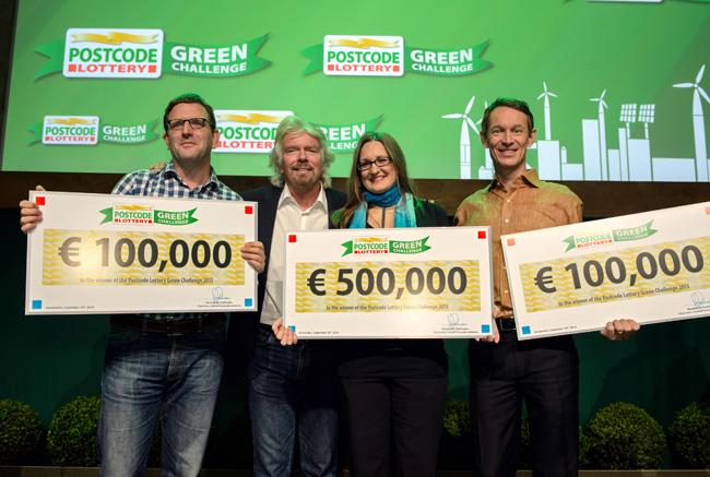 Postcode Lottery Green Challenge 2017 (Winner receives €500,000)