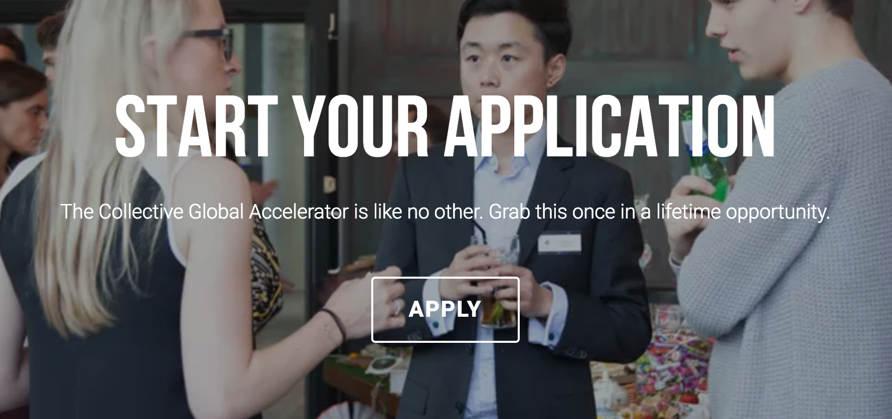 The Collective Global Social Accelerator 2017 in London, UK (fully-funded)