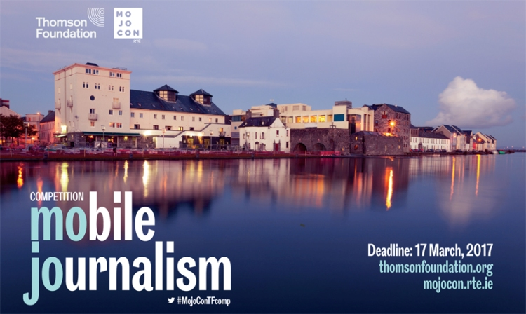 Thomson Foundation/RTÉ Mojocon Mobile Journalism Competition 2017