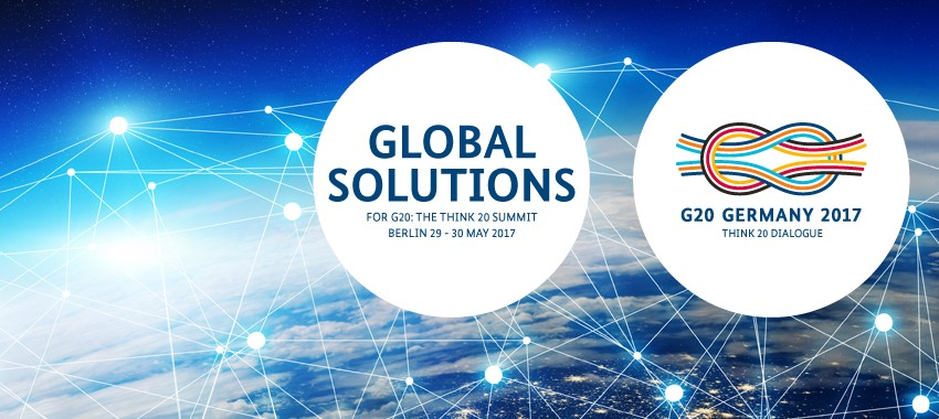 Think 20 Summit Global Solutions 2017 in Berlin, Germany (Full Scholarship for Young Global Changers)